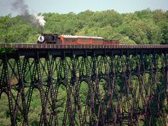 Kinzua Bridge State Park, McKean County, Pennsylvania