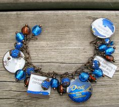 Dove chocolates bracelet -- I think I need this!