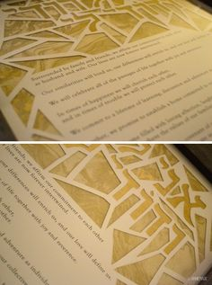 anniemade Hand Crafted DIY Papercut Ketubah