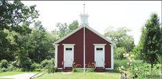 "The Adamsdale ""Little Red Schoolhouse"" in North Attleboro built in the Garrison House, Attleboro Massachusetts, North Attleboro, Washington Street, Historical Society, Rhode Island, Elementary Schools, Homeschool, Sweet Home"