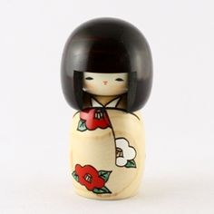 Spring Kokeshi Doll