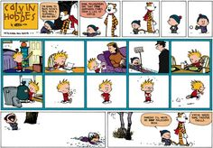 Calvin and Hobbes Comic Strip, February 16, 2014 on GoComics.com