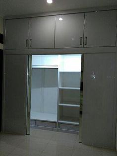 Furniture lemari pakaian minimalis murah permeter persegi tebet