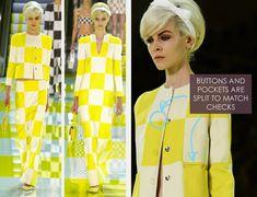 Louis Vuitton's Checkerboard Counterchange - The Cutting Class