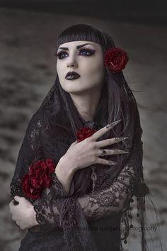 Model, MUA: Obsidian Kerttu Claws: Myril Jewels Necklace: @[331167496863:274:♥ My Lovely Boutique ♥] Lenses: Uniqso Photo: Martina Špoljarić photography