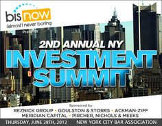 2nd Annual NY Investment Summit