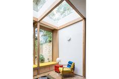 For Sale: Ickburgh Road, London E5 | The Modern House Mezzanine Bed, Sliding Pocket Doors, Front Courtyard, Underfloor Heating, Double Bedroom, Studio Apartment, Second Floor, Living Spaces, Floor Plans