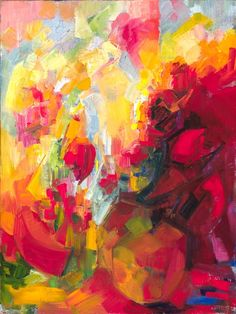 Lena Levin #colorful #abstract #art
