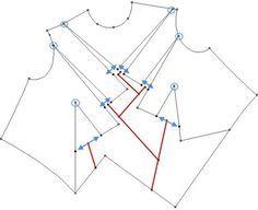 pattern magic tuto couture origami patron robe