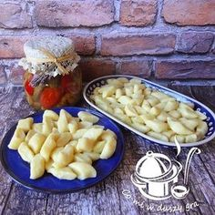 KOPYTKA - PRZEPIS PODSTAWOWY Meals Without Meat, Polish Recipes, Macaroni And Cheese, Food And Drink, Chicken, Gra, Ethnic Recipes, Pierogi, Dinners