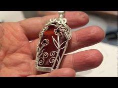awesome DIY Bijoux - wire wrapped pendant ~ Wire Jewelry Tutorials...