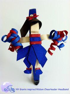 Cheerleader Ribbon Sculpture