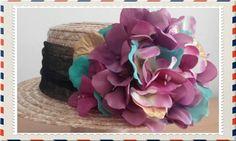 Valentino icon Canotier Hat Head Celebrities Runway Dress Jumpsuit Tulle Flowers #Handmade #PartyEveryDayGoodLookWedding