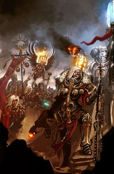 The Awesome artwork of Warhammer 40k: Photo