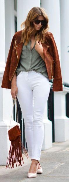 Ej Style Rusty Suede Jacket