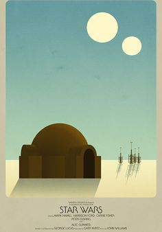 Star Wars poster by Timothy Anderson