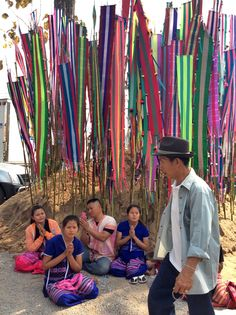 culture group karen (Wat phraputthabat pha nam,li,lamphon,thailand)