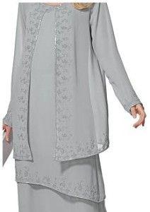 Pant Set Unique Beaded Black 3 Piece Plus Size Pantset For - Plus Size Jacket Dress For Wedding
