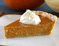 Pumpkin Pie - 5/5 stars. Doubled the cinnamon and added nutmeg and cloves. Fabulous. Makes a deep dish pie or 2 regular pies. :)