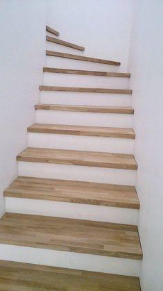 Vous Avez Un Escalier Beton Dans Votre Habitation Et Vous Souhaitez Couvrir En Bois Les Marches De Cet Escalier Beton Decoration Escalier Amenagement Escalier