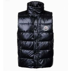 Moncler Down Men\'s Vest Black