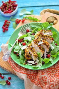 Anyżkowo: Filet z kurczaka w pistacjowej panierce