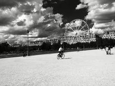 #Paris - #Riesenrad :) Ferris Wheel, Fair Grounds, Paris, Travel, Montmartre Paris, Viajes, Paris France, Destinations, Traveling