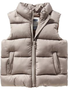 Frost Free Vests for Baby Girl
