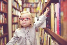 Used book store 2 year photo shoot.  LOVE this!!  Need to do a book/library shoot with the girls! :)
