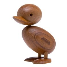 This high quality reproduction of Hans Bollings Duckling is made of solid teak wood, handcrafted and is 11.6 cm tall. This teak wooden duckling is thoughtful gift as a desk ornament or as wooden toy in a children's room. | eBay!