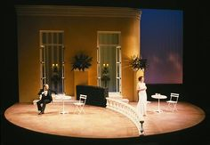 Private Lives. Intiman Theatre. Scenic design by Robert A. Dahlstrom.