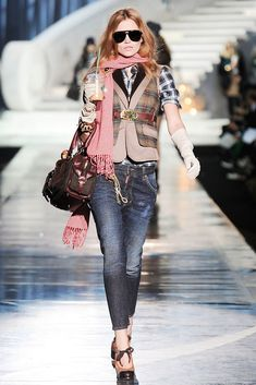Dsquared2 Fall 2009 Ready-to-Wear Fashion Show - Cato Van Ee