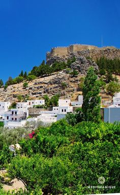 Lindos, Rhodes, Greece. For luxury hotels in Rhodes visit http://www.mediteranique.com/hotels-greece/rhodes/