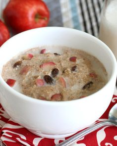 2. Cinnamon Apple Grain-Free Breakfast Porridge #whole30 #paleo #breakfast…