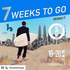 Woohoo!  East Meets West is just one of the big events MOJO Yoga will be participating in during our time in the Blue Startups program.   The best part? You can join us for morning yoga on the beach to kick everything off on day one! Head over to @bluestartups for details.   #Repost @bluestartups with @repostapp  7 WEEKS TO GO till East Meets West 2017 hits again! Don't wait to get your tickets to the biggest startup conference in Hawaii. #startupparadise #EMW17   #mymojoyoga #mojolife…
