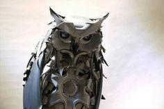 Hub Cap Owl
