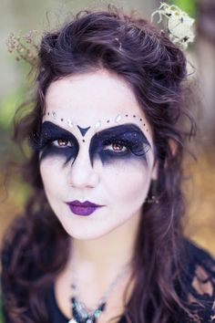 Halloweenportrait von Jacqueline Traub. Hair & Make-Up: Martina Bernburg   http://www.jacquelinetraub.de