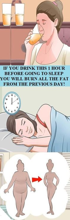 IF YOU DRINK THIS 1 HOUR BEFORE GOING TO SLEEP YOU WILL BURN ALL THE FAT FROM THE PREVIOUS DAY! | We Care