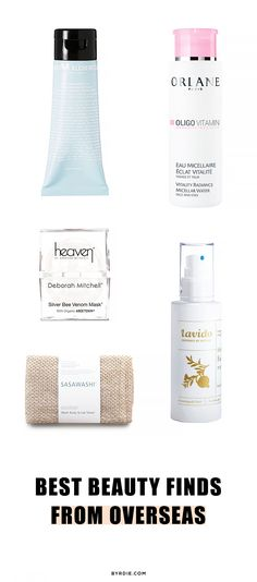 Bee venom masks, charcoal cleansers, and more overseas beauty wonders