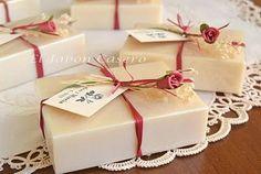 Detalles de boda hechos a mano. Jabones naturales