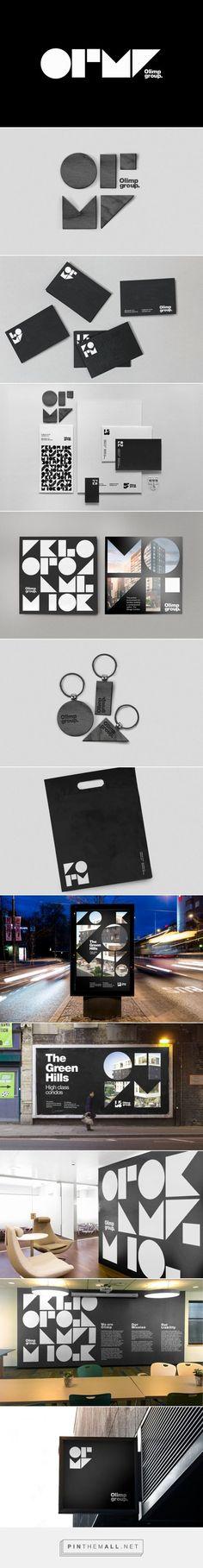 Olimp Group Real Estate Developer Branding by Stepan Solodkov | Fivestar Branding Agency – Design and Branding Agency & Curated Inspiration Gallery #realestatebranding