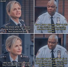 Comedy Quotes, Comedy Tv, Detective, Stupid Funny Memes, Hilarious, Brooklyn Nine Nine Funny, Brooklyn Baby, Himym, Parks N Rec
