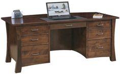 Lexington style Executive Desk