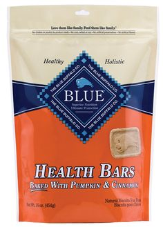 Blue Buffalo Baked Health Bars Dog Pet - Pumpkin and Cinnamon - 1 Pound Bag - USA * Continue to the product at the image link. (This is an Amazon affiliate link)