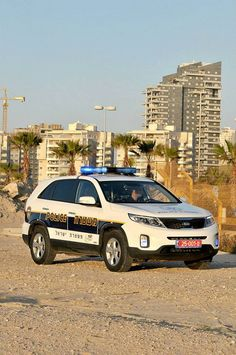 Kia Police Car in Israel