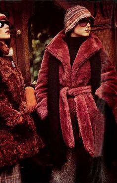 Fur coats 1973 - Vogue Italia