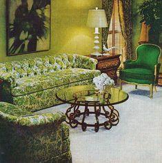 Henredon Furniture Ad, Better Homes and Gardens, October 1969