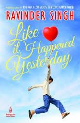 Book Review : Like It Happened Yesterday | Ravinder Singh | TotalStylish.Com