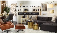 Furniture for Small Spaces | Z Gallerie