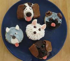 Cupcakes There Are Actually Ones Here That Look Kind Of Like Our Dogs Puppy